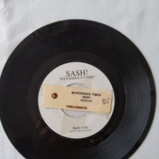 Discos de vinilo: RARO!! SASH, MYSTERIOUS TIMES VERSION JUKEBOX REINO UNIDO VG. Lote 251779460