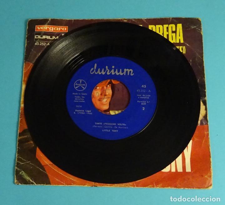 Discos de vinilo: LITTLE TONY. PREGA, PREGA (V FESTIVAL DE MALLORCA) / TANTE PROSSIME VOLTE. VERGARA 1968 - Foto 3 - 251787435