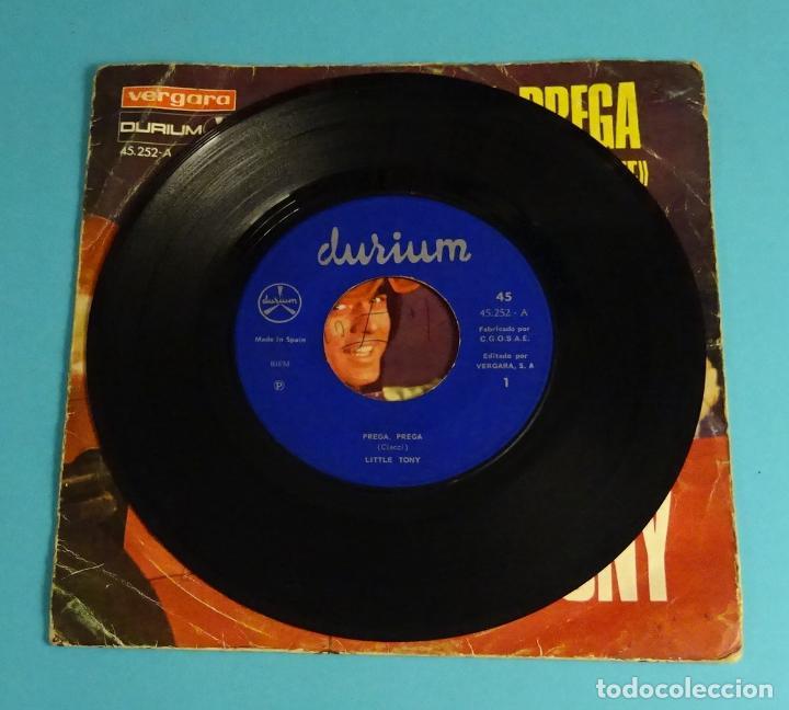 Discos de vinilo: LITTLE TONY. PREGA, PREGA (V FESTIVAL DE MALLORCA) / TANTE PROSSIME VOLTE. VERGARA 1968 - Foto 4 - 251787435