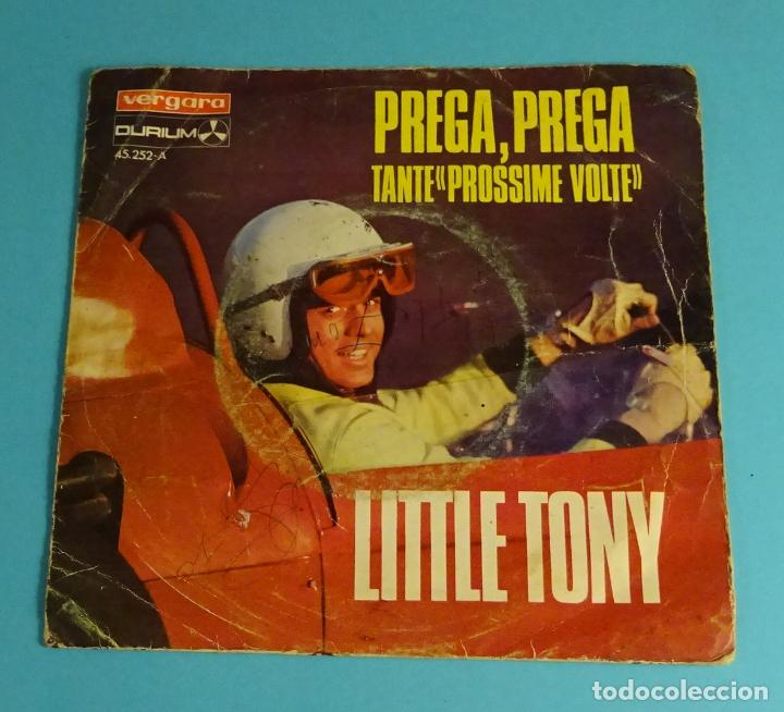 LITTLE TONY. PREGA, PREGA (V FESTIVAL DE MALLORCA) / TANTE PROSSIME VOLTE. VERGARA 1968 (Música - Discos - Singles Vinilo - Otros Festivales de la Canción)