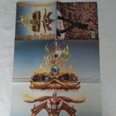 Discos de vinilo: IRON MAIDEN,THE CLAIRVOYANT POSTER SOLO,SIN DISCO. Lote 251818830