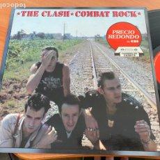 Discos de vinilo: THE CLASH (COMBAT ROCK) LP ESPAÑA 1988 (B-24). Lote 262817335