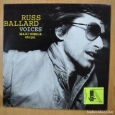 Disques de vinyle: RUSS BALLARD - VOICES - MAXI. Lote 251851575