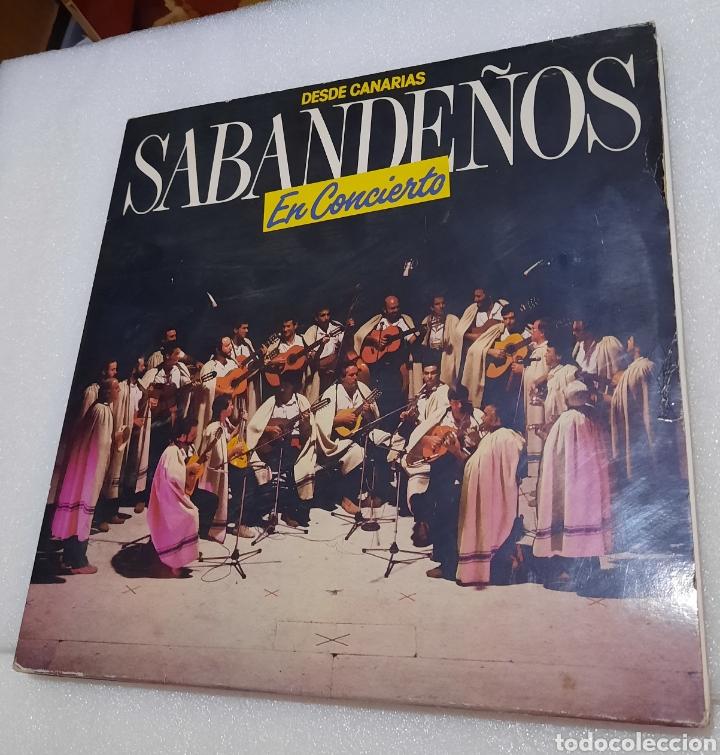 LOS SABANDEÑOS- DESDE CANARIAS EN CONCIERTO. DOBLE LP (Música - Discos - LP Vinilo - Grupos Españoles de los 70 y 80)