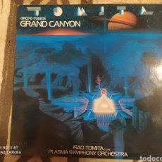 Discos de vinilo: ISAO TOMITA &THE PLASMA SYMPHONY ORCHESTRA–GRAND CANYON. LP VINILO PERFECTO ESTADO. Lote 251879995