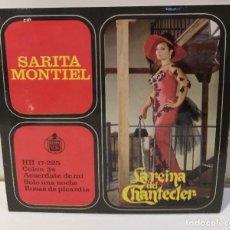 Discos de vinilo: SARA MONTIEL LA REINA DEL CHANTECLER COLÓN 34 1963. Lote 251880685