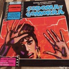 Discos de vinilo: SODOMA Y GOMORRA. BANDA SONORA EN VINILO - PERFECTO ESTADO. Lote 251891545
