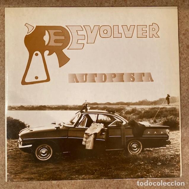 REVÓLVER - AUTOPISTA - MAXI SINGLE (Música - Discos de Vinilo - Maxi Singles - Grupos Españoles de los 90 a la actualidad)