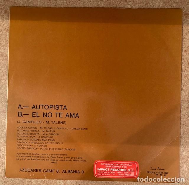 Discos de vinilo: REVÓLVER - AUTOPISTA - MAXI SINGLE - Foto 2 - 251905915