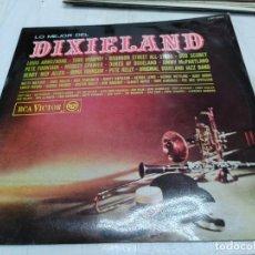 Discos de vinilo: LP LO MEJOR DE DIXIELAND - LOUIS ARMSTRONG - TURK MURPHY - PETE KELLY.... - RCA VICTOR 1967.JAZZ. Lote 251908545