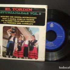 Discos de vinilo: EL TORDIN ASTURIANADAS VOL 2 EP HISPAVOX 1963 HH 16-405 ASTURIAS PEPETO. Lote 251919690