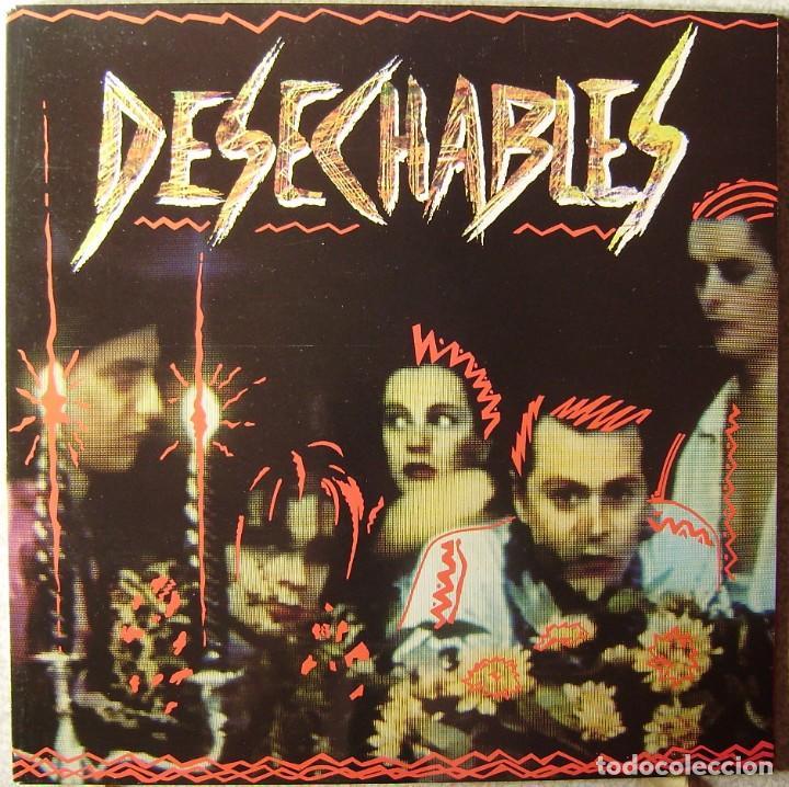 DESECHABLES.AMOR PIRATA...NUEVO SIN PRECINTAR...BESTIAL (Música - Discos - LP Vinilo - Punk - Hard Core)