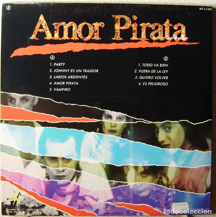 Discos de vinilo: DESECHABLES.AMOR PIRATA...NUEVO SIN PRECINTAR...BESTIAL - Foto 2 - 251937875