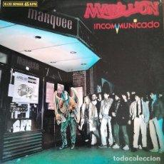 Discos de vinilo: MARILLION - INCOMMUNICADO - MAXI SINGLE DE VINILO EDICION ESPAÑOLA #. Lote 251948125