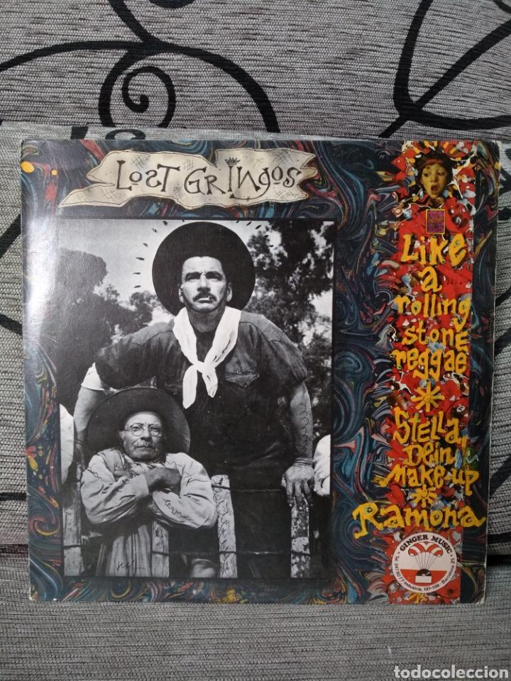 LOST GRINGOS - LIKE A ROLLING STONE REGGAE (Música - Discos de Vinilo - Maxi Singles - Jazz, Jazz-Rock, Blues y R&B)
