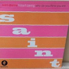 Discos de vinilo: SAINT ETIENNE - HOBART PAVING MAXI HEAVENLY EDIC. INGLESA - 1993. Lote 251959960