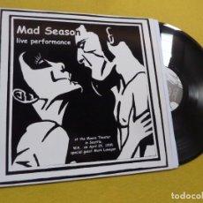 Discos de vinil: LP MAD SEASON – LIVE PERFORMANCE - MOORE THEATRE - SEATTLE 1995 (M/M). Lote 251976995