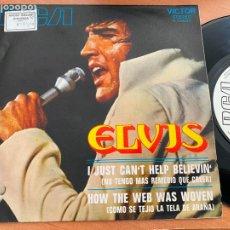 Discos de vinilo: ELVIS PRESLEY (I JUST CAN'T HELP BELIEVIN') SINGLE 1971 ESPAÑA PROMO (EPI23). Lote 293618478