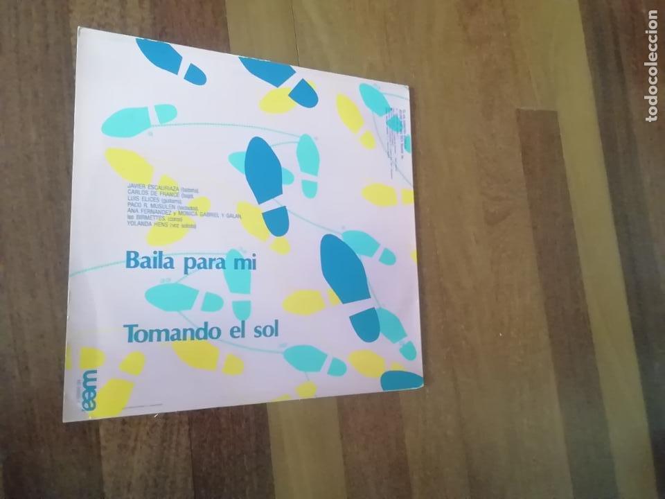 Discos de vinilo: Objetivo Birmania-baila para mi. maxi - Foto 2 - 251987955