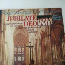 Discos de vinilo: JUBILATE DEO.. Lote 251999580