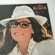 Discos de vinilo: NANA MOUSKOURI. TIERRA VIVA.. Lote 252000105