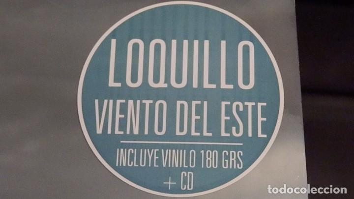Discos de vinilo: LOQUILLO * VINILO 180g + CD * VIENTO DEL ESTE * PRECINTADO - Foto 8 - 267909394