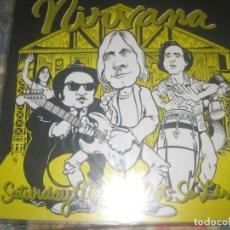 Discos de vinilo: NIRVANA SATURDAY NIGH NOT SO LIVE RADIO SAMPLE PROMO 1991-1994 OG USA ULTRA RARO LEA DESCRIPCION. Lote 252001420