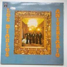 Discos de vinilo: VINILO LP 1975 - LOS DIABLOS / ANIVERSARIO (EMI-ODEON). Lote 252016610