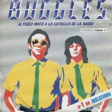 Disques de vinyle: BUGGLES / EL VIDEO MATO A LA ESTRELLA DE LA RADIO / KID DINAME (SINGLE 1979). Lote 252019565