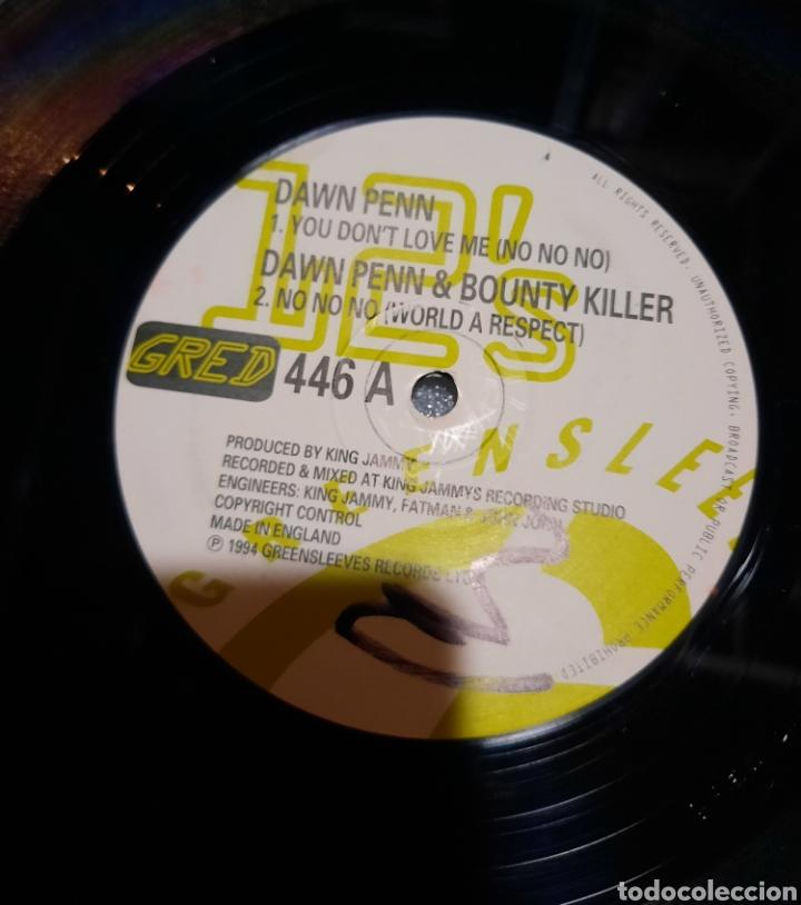 Discos de vinilo: Dawnn Penn & Bounty killer -No, No, No ( world a respect) - Foto 3 - 252022920