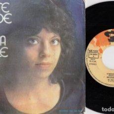 Discos de vinilo: NICOLE RIEU - ET BONJOUR A TOI L'ARTISTE - SINGLE DE VINILO EDICION ESPAÑOLA EUROVISION 1975 FRANCIA. Lote 252035660