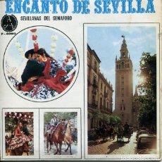 Discos de vinil: ENCANTO DE SEVILLA (SEVILLANAS DEL SEMAFORO) YO ME VOY PARA EL ROCIO + 3 (EP 1970). Lote 252037300