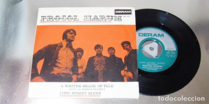 PROCOL HARUM -- A WHITER SHADE OF PALE & LIME STREET BLUES --- MINT M (Música - Discos - Singles Vinilo - Pop - Rock Internacional de los 50 y 60)