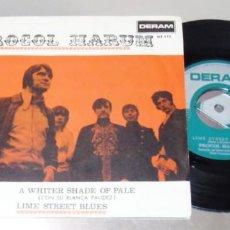 Discos de vinilo: PROCOL HARUM -- A WHITER SHADE OF PALE & LIME STREET BLUES --- MINT M. Lote 252068730