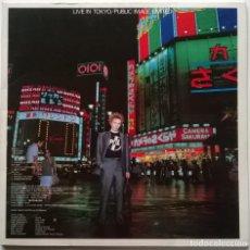 Discos de vinilo: PUBLIC IMAGE LIMITED. PIL LIVE IN TOKYO. VIRGIN, GERMANY 1983 (2 LP 12'' 45 RPM). Lote 252079175