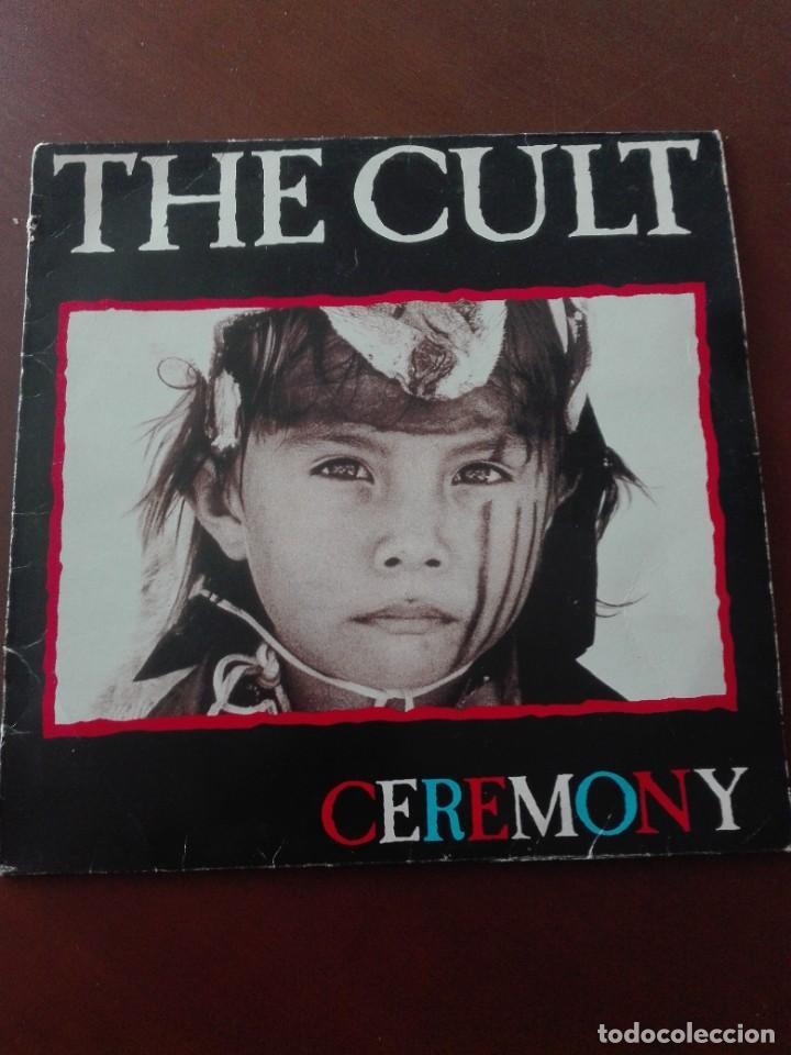"""JMFC- DISCO VINILO LP THE CULT """" CEREMONY """" VIRGIN 1991 EDICION ESPAÑOLA (Música - Discos - LP Vinilo - Otros estilos)"""