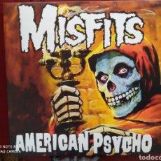 Discos de vinilo: MISFITS -AMERICAN PSYCHO - LP VINILO AZUL TRANSPARENTE - NUEVO. Lote 252112755