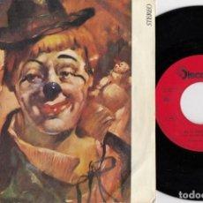 Discos de vinilo: PINO PUGLIESE - EL ULTIMO PAYASO - SINGLE DE VINILO EDICION ESPAÑOLA. Lote 252123045