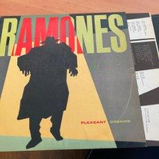 Discos de vinilo: RAMONES (PLEASANT DREAMS) LP 1981 ESPAÑA (B-25). Lote 252135310