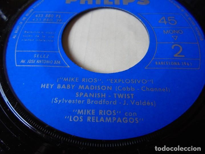 Discos de vinilo: magnifico single mike rios con los relampagos,deten la noche del 1962 solo disco - Foto 3 - 252149325