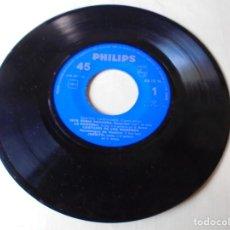Discos de vinilo: MAGNIFICO SINGLE CUATRO CANTAORES,ESTA RUBIA PANAERA,LA PAQUERA,DEL 1960,SOLO SINGLE. Lote 252150210
