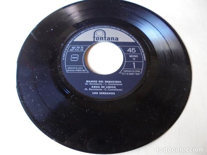 SINGLE MAMBO DEL EMBUSTERO,AGUA DE LIMON,EL CARRO DE LA TARANTA,LOS JARDINEROS,DEL 1962 SOLO SINGLE (Música - Discos - Singles Vinilo - Flamenco, Canción española y Cuplé)