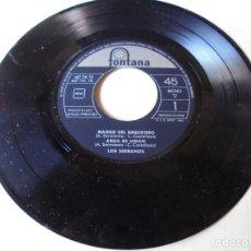 Discos de vinilo: SINGLE MAMBO DEL EMBUSTERO,AGUA DE LIMON,EL CARRO DE LA TARANTA,LOS JARDINEROS,DEL 1962 SOLO SINGLE. Lote 252150890