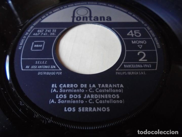 Discos de vinilo: single mambo del embustero,agua de limon,el carro de la taranta,los jardineros,del 1962 solo single - Foto 3 - 252150890