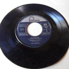 Discos de vinilo: SINGLE LOS SERRANO,MIRANDO AL ALBA,VIVAN SUS LINDAS MUJERES,SON GITANERIAS,1963,SOLO SINGLE. Lote 252152370