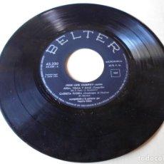 Discos de vinilo: SINGLE JOSE LUIS CAMPOY CANTA ARSA,TOMA Y DALE,CARRETA FLORIDA DEL 1959,SOLO SINGLE. Lote 252152830