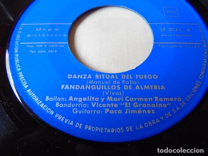 Discos de vinilo: single sevilla,gitanerias del monte del 1961,solo single - Foto 3 - 252154230
