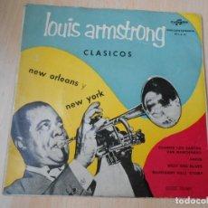Disques de vinyle: LOUIS ARMSTRONG, EP, CUANDO LOS SANTOS VAN MARCHANDO + 3, AÑO 1959. Lote 252177150