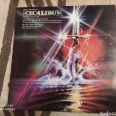 Discos de vinilo: MUSIC FROM THE FILM EXCALIBUR AND OTHER SELECTIONS. LP VINILO. BUEN ESTADO. Lote 252200530