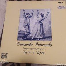 Discos de vinilo: TERRA A TERRA–DANÇANDO, PULIRANDO . LP VINILO BUEN ESTADO. MÚSICA PORTUGAL. Lote 252201450